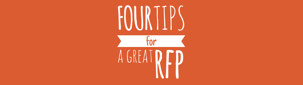 Four tips for a great RFP